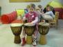 Spontánní bubnování pro nejmenší