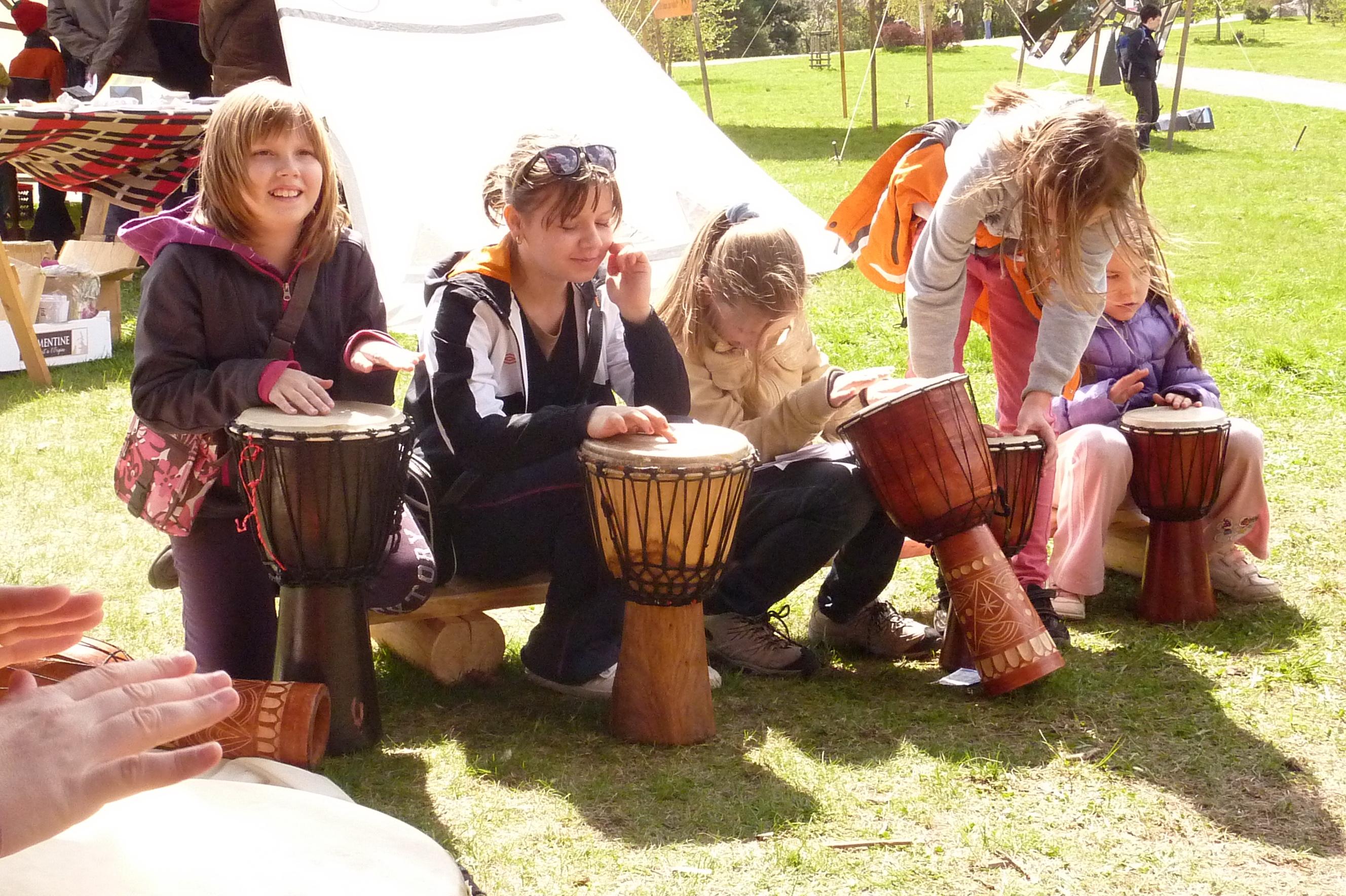 Dětský den a bubny