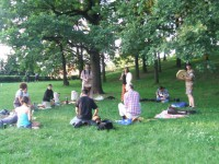 Vyšehrad: Spontánní bubnování, tanec a zpěv pod širým nebem @ Praha Vyšehrad: Táborská brána | Praha | Hlavní město Praha | Česká republika