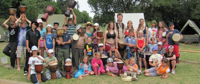 Spontánní bubnování pro děti